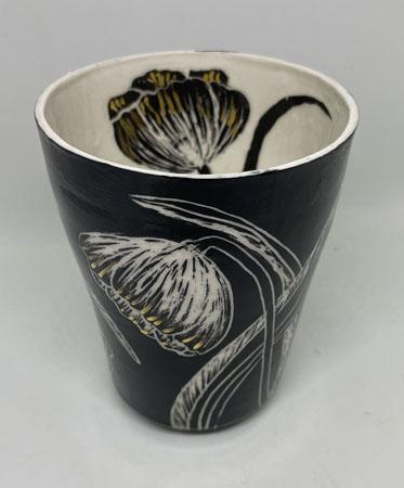 Porcelain Floral Vessel