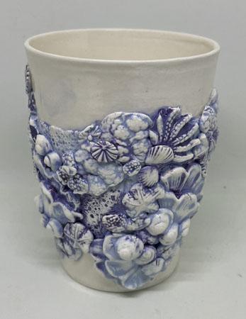 Blue Coral \'Hug Me\' Mug