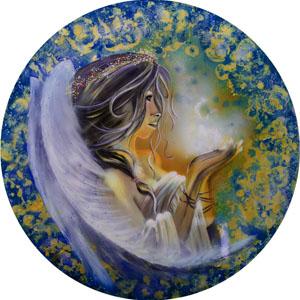 Spiritual Soul Goddess - Dark Blue