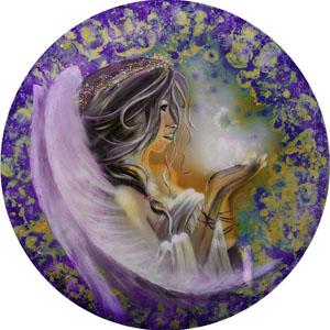 Spiritual Soul Goddess - Purple