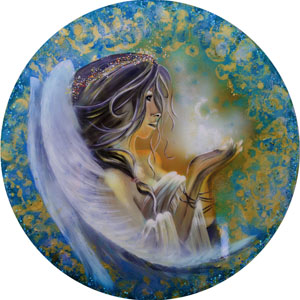 Spiritual Soul Goddess - Blue