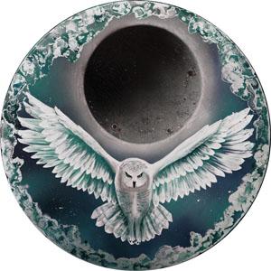 Mystical Owl - Green