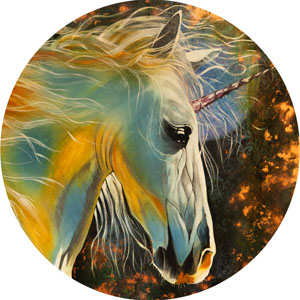Enchanted Unicorn - Bronze
